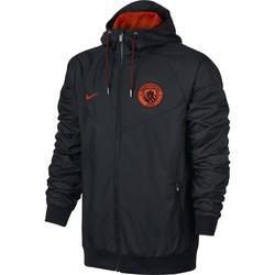 Veste à capuche Manchester City noire 2016 - 2017