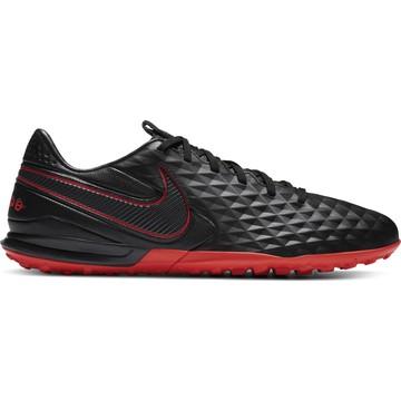 Nike Tiempo Legend 8 Pro Turf noir rouge