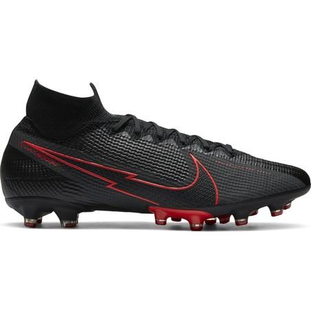 Nike Mercurial Superfly 7 Elite AG-Pro noir rouge