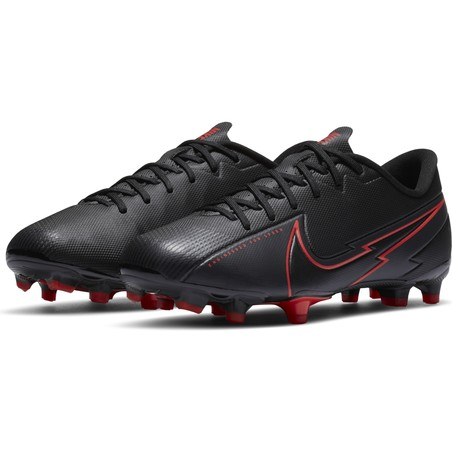 Nike Mercurial Vapor XIII junior AcademyFG/MG noir rouge