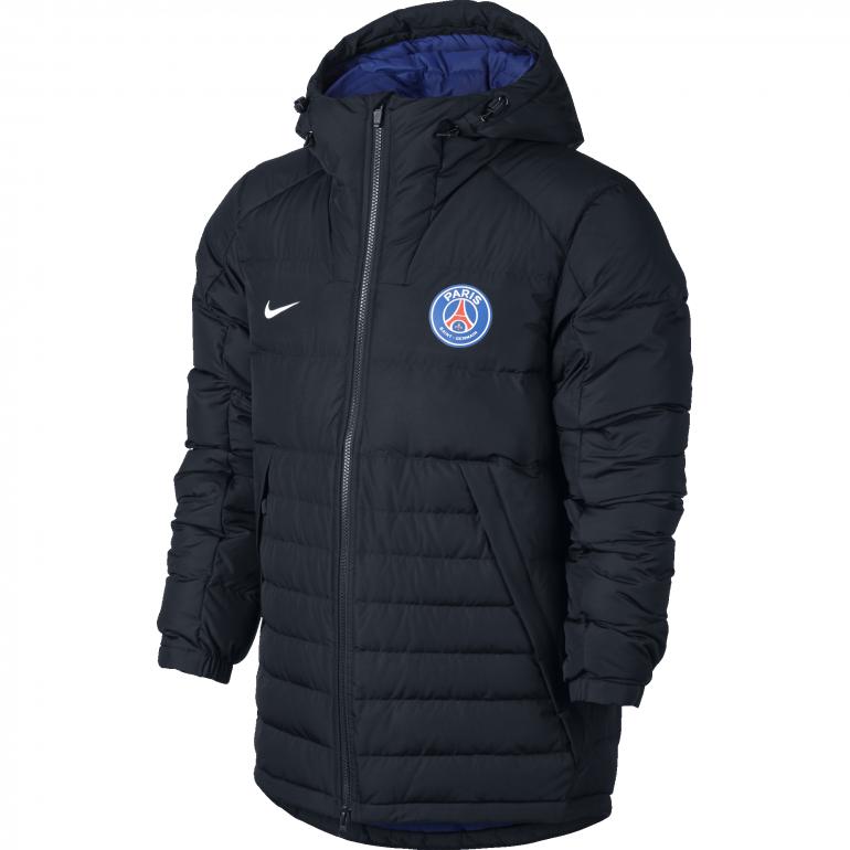 Manteau à capuche PSG noir 2016 - 2017