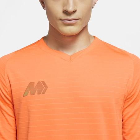 Maillot entraînement Nike Mercurial orange