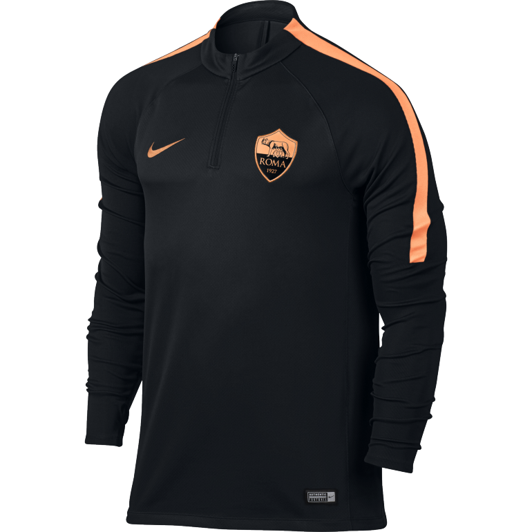 Sweat zippé Third AS Rome 2016 - 2017