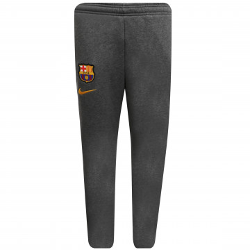 Pantalon survêtement junior FC Barcelone gris 2020/21
