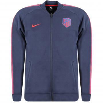 Veste survêtement Atlético Madrid GFA Fleece bleu rouge 2020/21