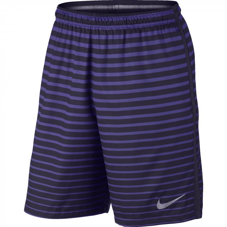 Short violet rayé Nike