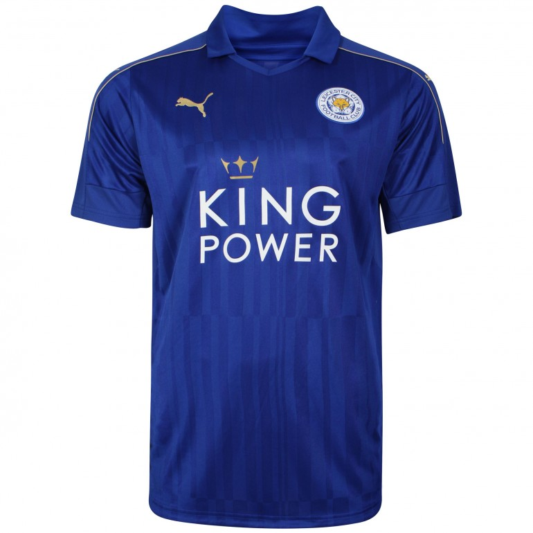 Maillot Leicester domicile 2016 - 2017
