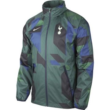 Veste imperméable Tottenham vert bleu 2020/21