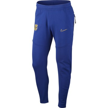 Pantalon survêtement FC Barcelone Tech Fleece bleu jaune 2020/21