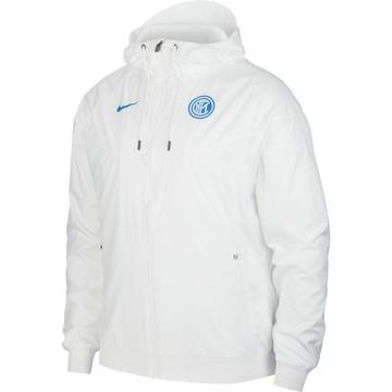 Coupe vent Inter Milan blanc 2020/21