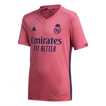 Maillot junior Real Madrid extérieur 2020/21