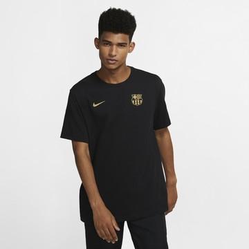 T-shirt FC Barcelone noir or 2020/21