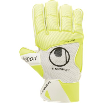 Gants Gardien junior Uhslport Pure Alliance Starter Soft jaune