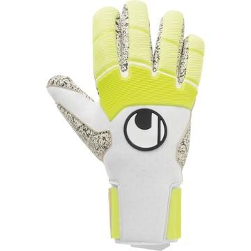 Gants gardien Uhlsport Pure Alliance Supergrip + Finger blanc jaune