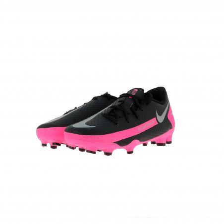Nike Phantom GT enfant Academy FG/MG basse noir rose