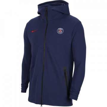 Veste survêtement junior PSG Tech Fleece bleu 2020/21
