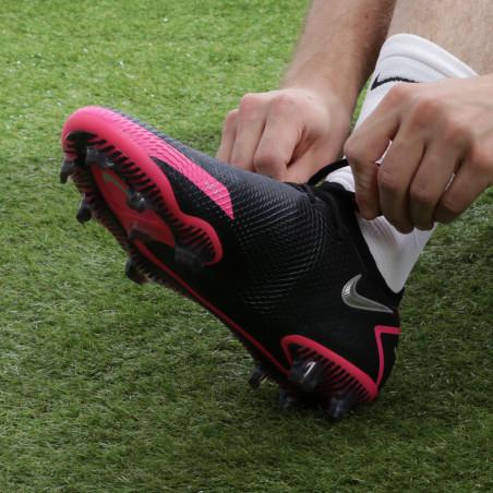 Nike Phantom GT Elite FG basse noir rose