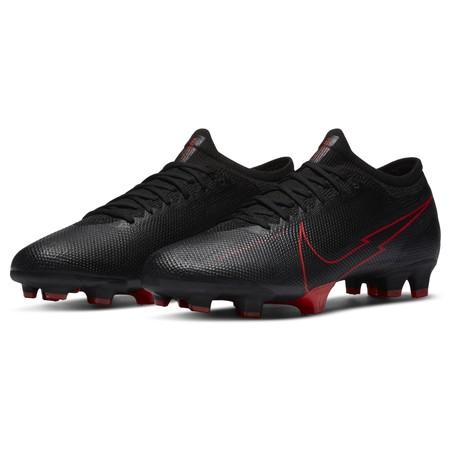 Nike Mercurial Vapor XIII Pro FG noir rouge