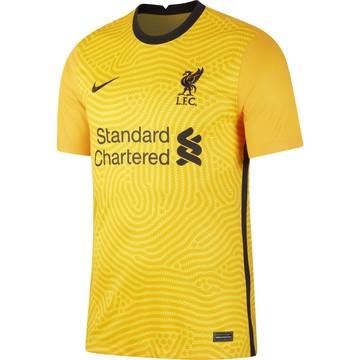 Maillot gardien Liverpool jaune 2020/21
