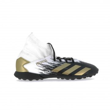 adidas Predator junior 20.3 Turf blanc or