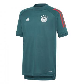Maillot entraînement junior Bayern Munich vert 2020/21
