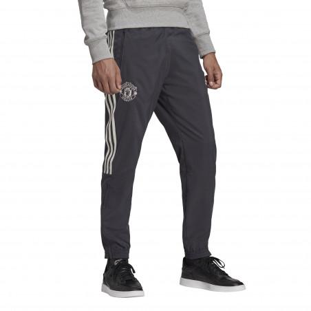 Pantalon survêtement Manchester United microfibre gris 2020/21