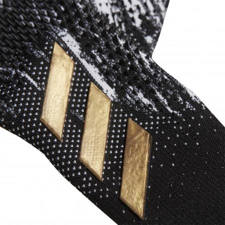 Gants gardien adidas Predator Pro noir or