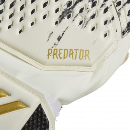 Gants Gardien junior Predator 20 blanc or