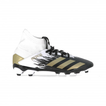 adidas Predator junior 20.3 MG blanc or