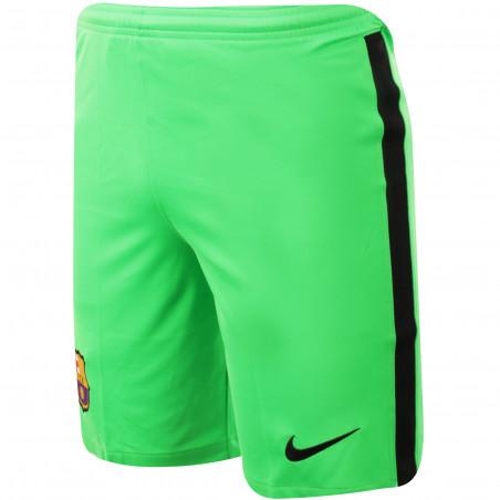 Short gardien junior FC Barcelone vert 2020/21