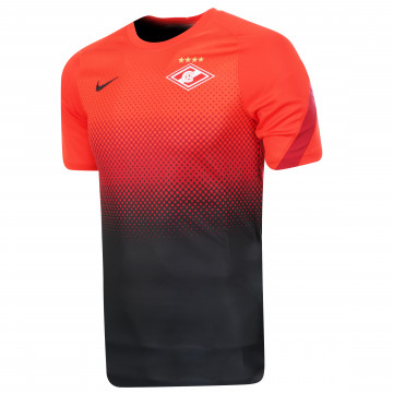 Maillot avant match Spartak Moscou rouge 2020/21
