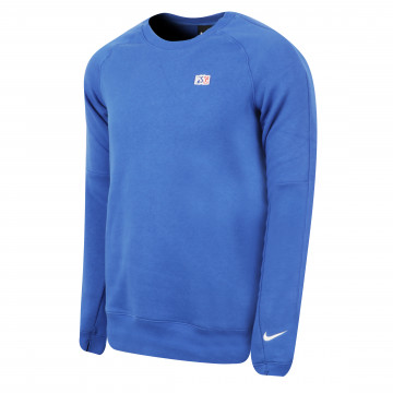 Sweat PSG Crew bleu 2020/21