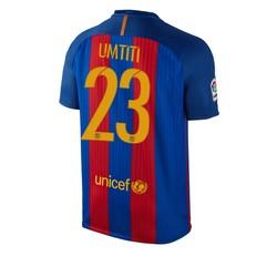 Maillot Umtiti FC Barcelone domicile 2016 - 2017