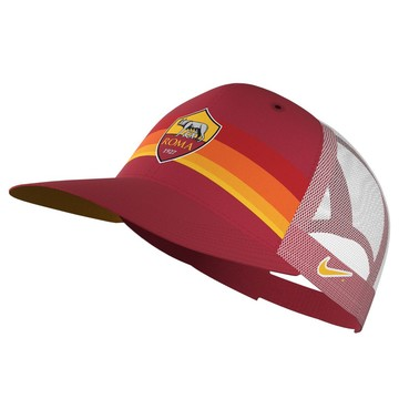 Casquette AS Roma AROBILL C99 rouge 2020/21