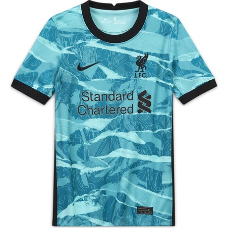 Maillot junior Liverpool extérieur 2020/21