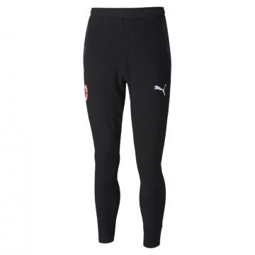 Pantalon survêtement Milan AC molleton noir 2020/21