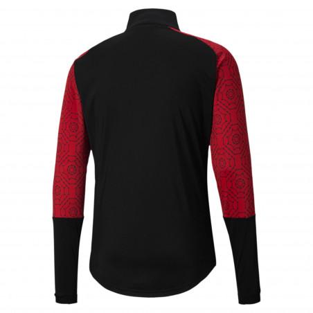 Veste survêtement Milan AC Stadium noir rouge 2020/21