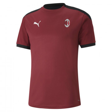 Maillot entraînement Milan AC rouge noir 2020/21