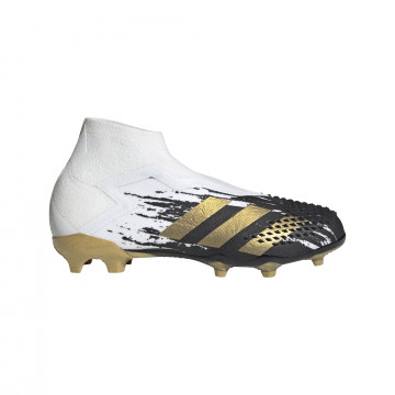adidas Predator 20+ junior FG blanc or
