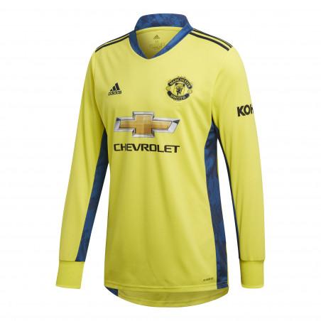 Maillot gardien Manchester United jaune 2020/21
