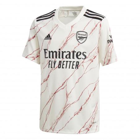 Maillot junior Arsenal extérieur 2020/21