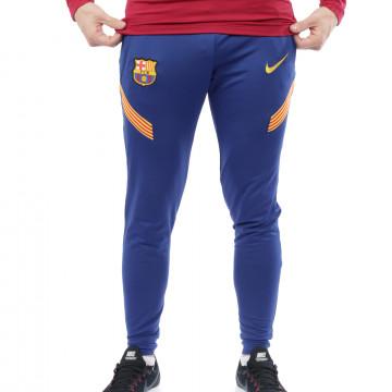 Pantalon survêtement FC Barcelone Strike bleu 2020/21