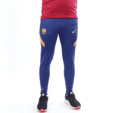 Pantalon survêtement FC Barcelone VaporKnite Strike bleu 2020/21