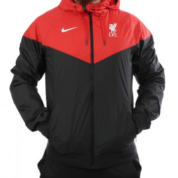Coupe vent Liverpool noir rouge 2020/21