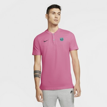 Polo FC Barcelone Authentique rose 2020/21