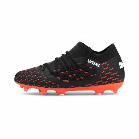 Puma Future 6.3 junior NetFit FG noir orange