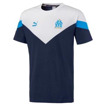 T-shirt OM iconic blanc bleu 2019/20