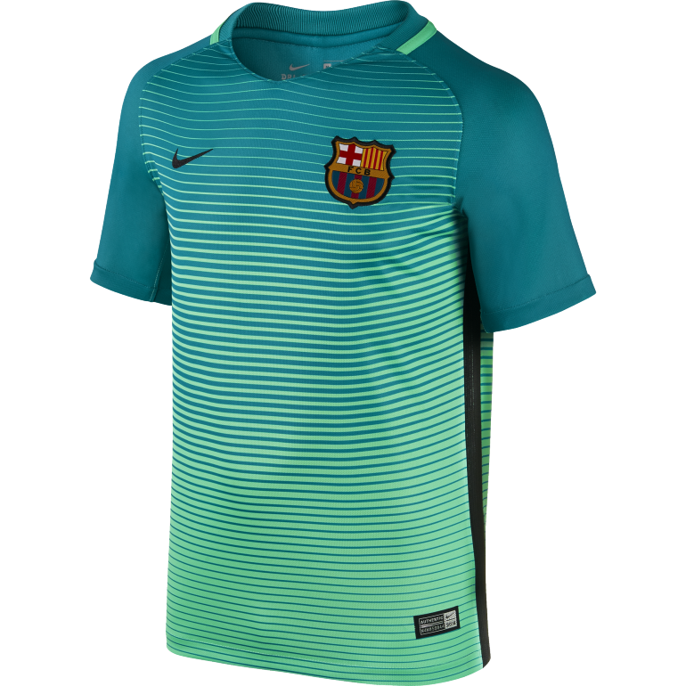 Maillot Third junior FC Barcelone 2016 - 2017