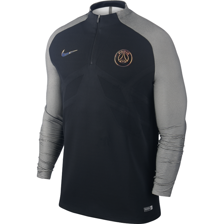 Sweat zippé Third PSG 2016 - 2017