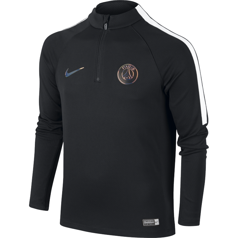 Sweat zippé Squad junior PSG 2016 - 2017